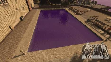 Фиолетовый цвет воды для GTA 4 второй скриншот