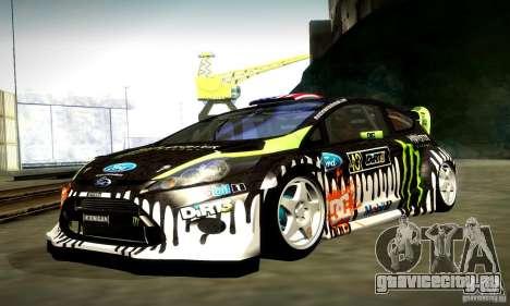 Ford Fiesta Gymkhana 4 для GTA San Andreas