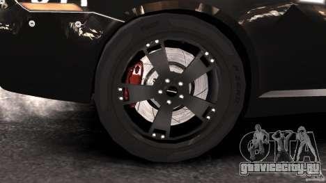 NFSOL State Police Car [ELS] для GTA 4 вид сзади