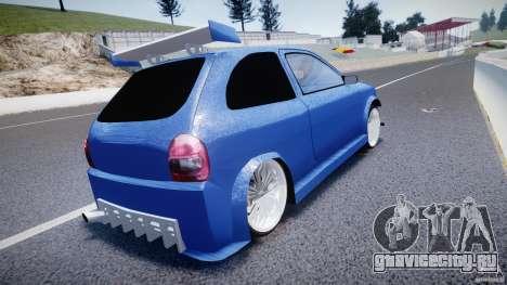 Chevrolet Corsa Extreme Revolution для GTA 4 вид сзади слева