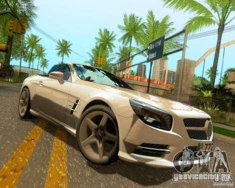 Mercedes-Benz SL350 2013 для GTA San Andreas колёса