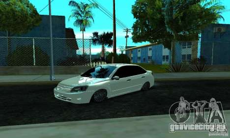 Lada 2190 Granta для GTA San Andreas вид слева
