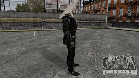 Геральт из Ривии v7 для GTA 4 второй скриншот