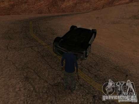 Перевернутые автомобили не горят для GTA San Andreas восьмой скриншот