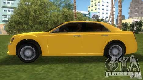Lancia Nuova Thema для GTA Vice City вид сзади слева