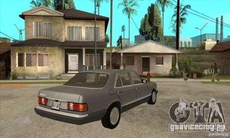 Mercedes Benz W126 560 v1.1 для GTA San Andreas вид справа
