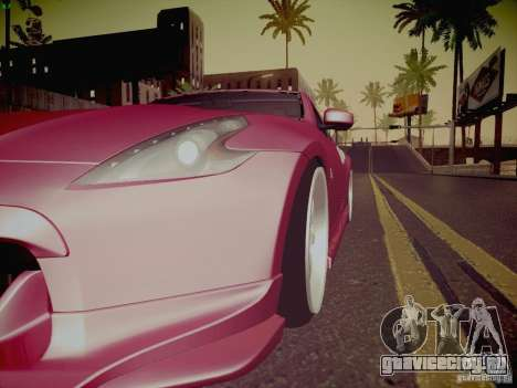 Nissan 370Z Fatlace для GTA San Andreas двигатель
