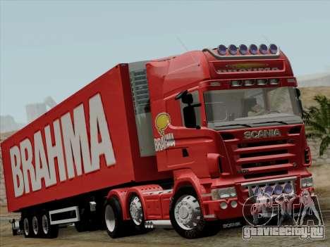 Scania R620 Brahma для GTA San Andreas вид слева