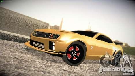 Chevrolet Camaro SS Transformers 3 для GTA San Andreas