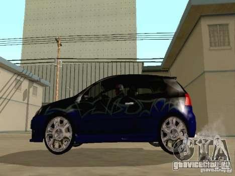 Volkswagen Golf V GTI для GTA San Andreas вид сбоку