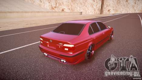 BMW M5 E39 Hamann [Beta] для GTA 4 вид сверху