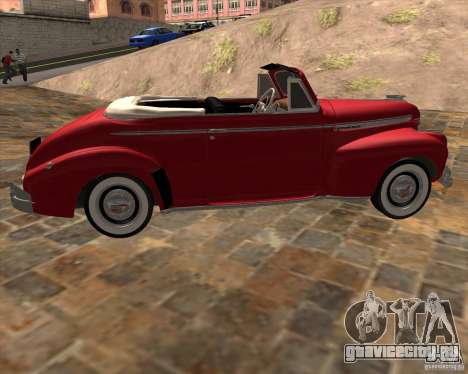 Chevrolet Special DeLuxe 1941 для GTA San Andreas вид слева