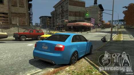 Audi S4 2000 для GTA 4 вид сверху