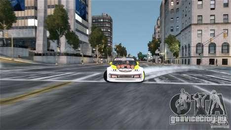 Subaru Impreza WRX STI Rallycross Monster Energy для GTA 4 вид сзади
