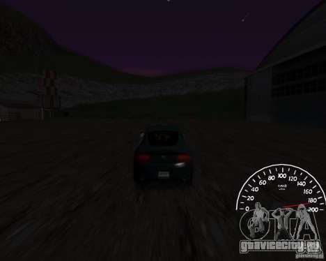 Спидометр 0.5 beta для GTA San Andreas второй скриншот