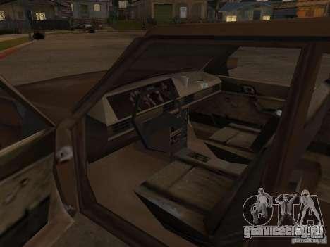Машина 2 из CoD MW для GTA San Andreas вид изнутри