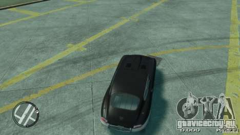 Jaguar XK E-type для GTA 4 вид сзади слева