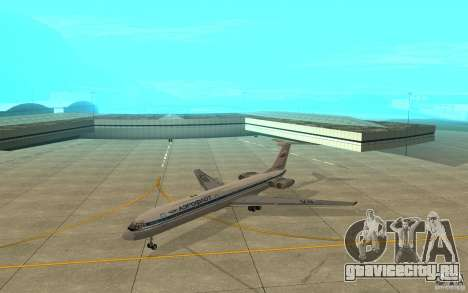 Ил-62М Аэрофлот для GTA San Andreas вид слева