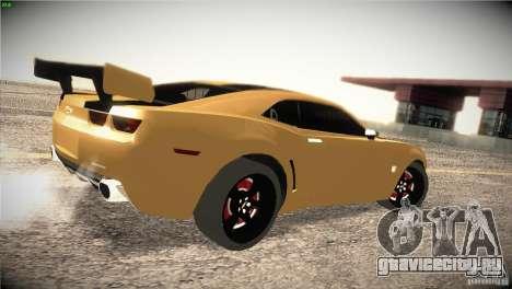 Chevrolet Camaro SS Transformers 3 для GTA San Andreas вид справа