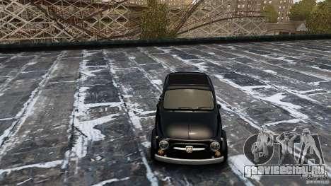 Fiat 500 695 Abarth для GTA 4 вид справа
