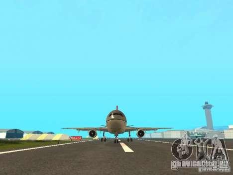 McDonell Douglas DC 10 Nortwest Airlines для GTA San Andreas вид слева
