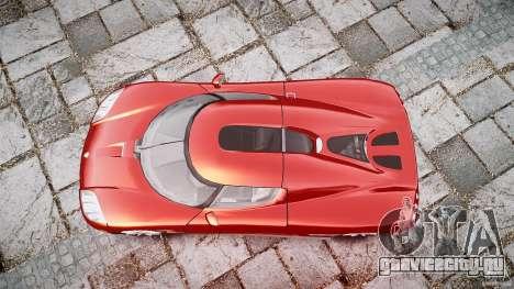 Koenigsegg CCX v1.1 для GTA 4 вид сбоку