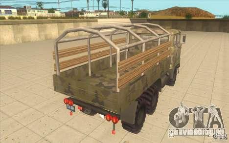 IFA 6x6 Army Truck для GTA San Andreas вид сзади слева