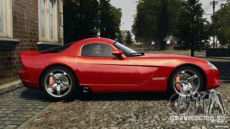 Dodge Viper SRT-10 Coupe для GTA 4 вид слева