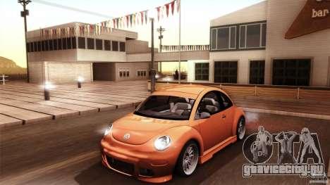 Volkswagen Beetle RSi Tuned для GTA San Andreas двигатель