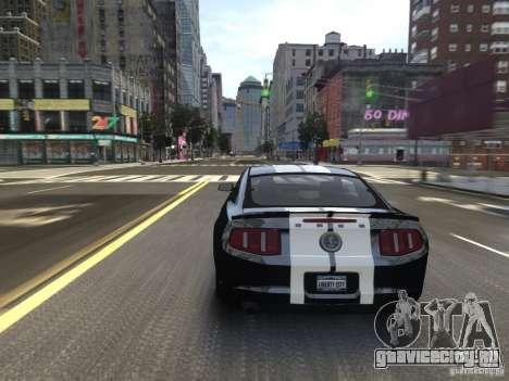 Ford Shelby GT500 2010 WIP для GTA 4