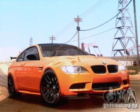 BMW M3 GT-S 2011 для GTA San Andreas