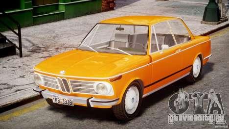 BMW 2002 1972 для GTA 4 вид слева