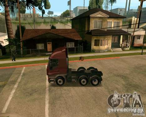 Iveco Stralis для GTA San Andreas вид слева