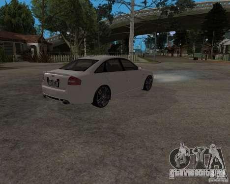 Audi RS6 (A6) для GTA San Andreas вид справа
