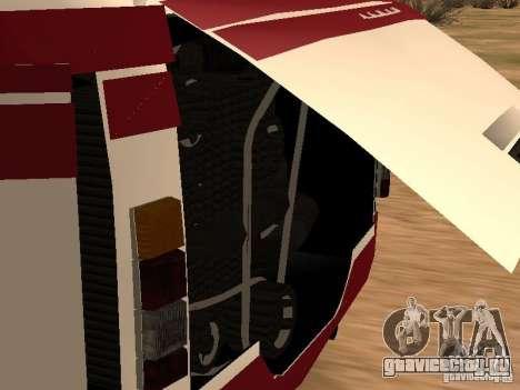 ЛАЗ 695 для GTA San Andreas вид сзади