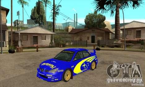 Subaru Impreza STi WRC wht1 для GTA San Andreas вид слева