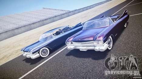 Cadillac Eldorado 1959 interior black для GTA 4