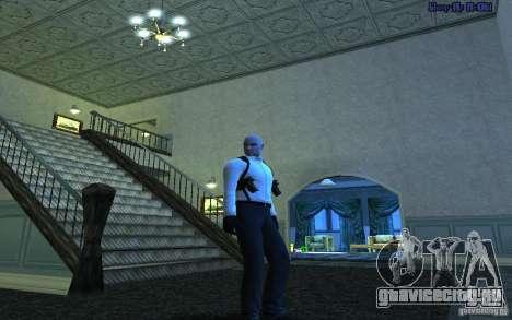 Agent 47 для GTA San Andreas