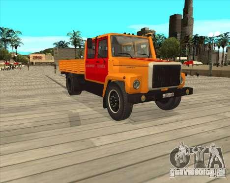 ГАЗ 3309 Аварийка для GTA San Andreas вид слева