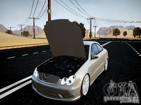 Mercedes-Benz CLK63 AMG Final для GTA 4 вид справа