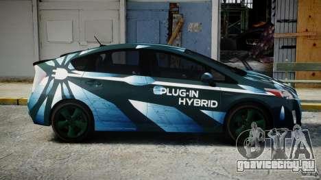 Toyota Prius 2011 PHEV Concept для GTA 4 вид изнутри