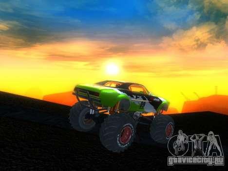 Fire Ball для GTA San Andreas вид слева