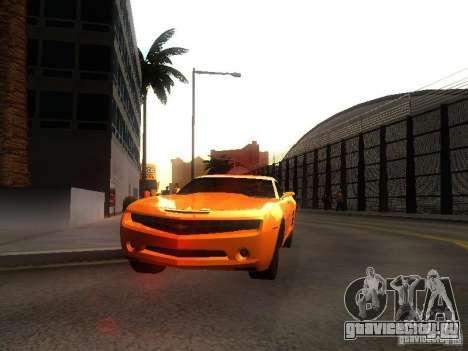Chevrolet Camaro 2007 для GTA San Andreas вид слева