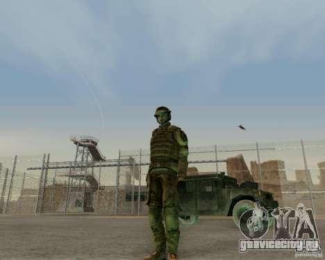 Tom Clancys Ghost Recon для GTA San Andreas третий скриншот