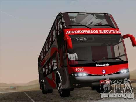 Marcopolo DD800 Volvo B12R для GTA San Andreas