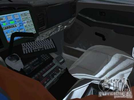 Chevrolet Suburban Los Angeles Police для GTA San Andreas вид сзади