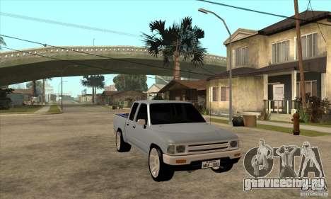 Toyota Hilux Surf v2.0 для GTA San Andreas вид сзади