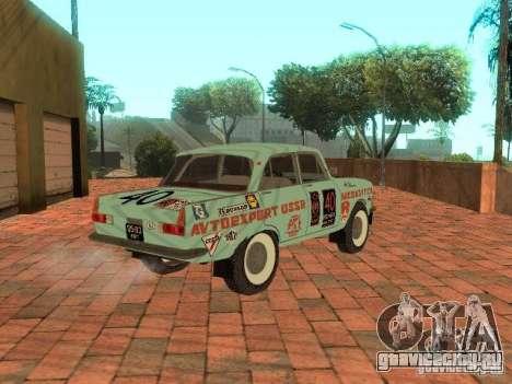 Москвич 412 Rally Version для GTA San Andreas вид слева