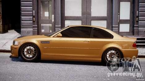 BMW M3 E46 Tuning 2001 v2.0 для GTA 4 вид слева