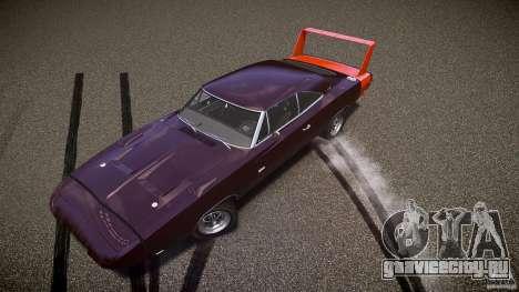 Dodge Charger Daytona 1969 [EPM] для GTA 4 колёса